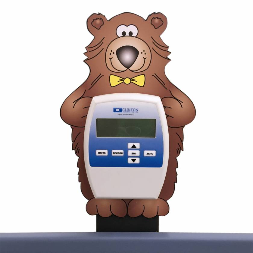 Clinton 78-B Bear ScalePal (Digital Display NOT included)