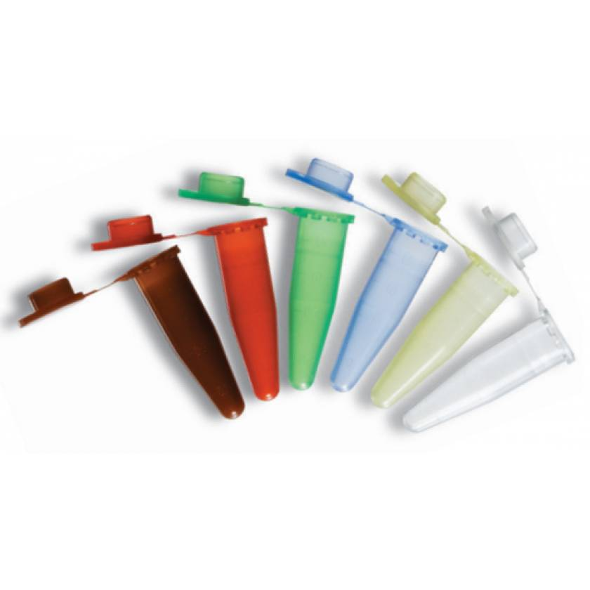 BRAND 1.5mL Non-Sterile Disposable Microcentrifuge Tubes with Lids