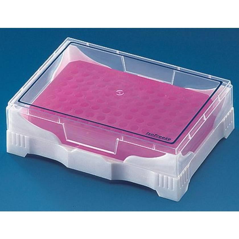 BrandTech PCR Mini-Cooler with Transparent Lid - Pink