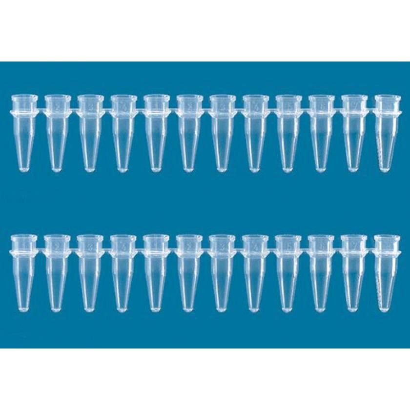 BrandTech PCR Tube Strip Without Cap 12 x 0.2mL
