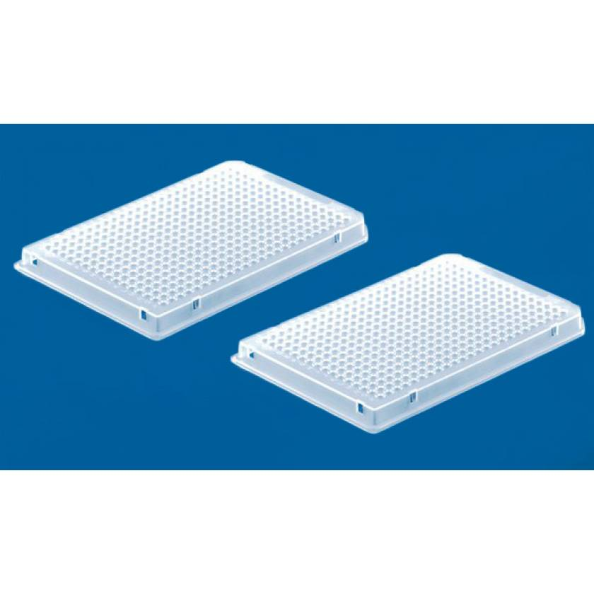 BrandTech BRAND Polypropylene White 384-Well Real-Time PCR (qPCR) Plates 0.03mL - Full Skirt