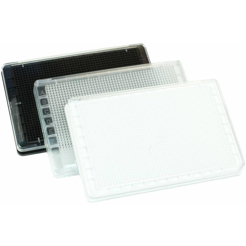 BrandTech BRANDplates 1536-Well Plate cellGrade Polystyrene Sterile with Lids F-Bottom