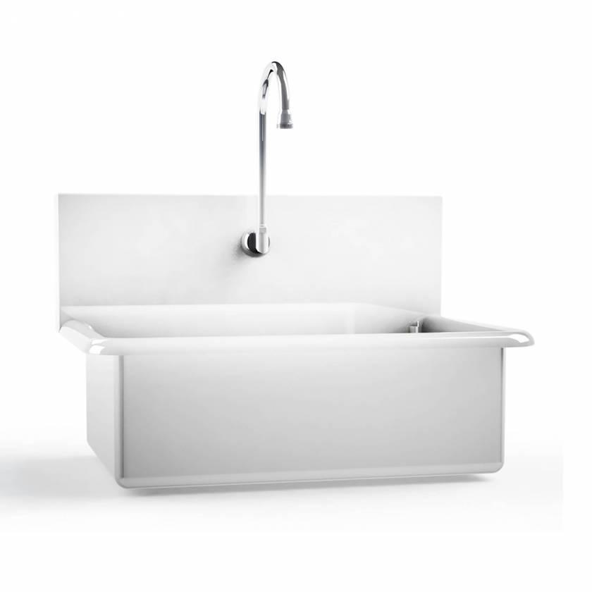 Single Station Windsor Scrub Sinks (One deep sink bowl, one scrub sink station)