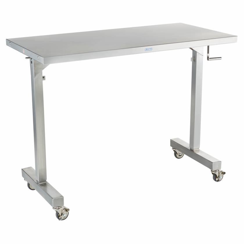 Blickman Adjustable Height Instrument Table