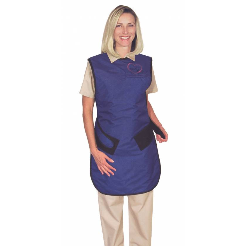 Plain Back - Hook and Loop Closure - Regular Lead Apron