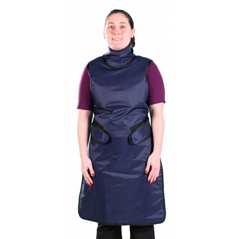 Flex Back - Hook and Loop Closure - Ultra Lite Lead Apron with Sewn In Collar