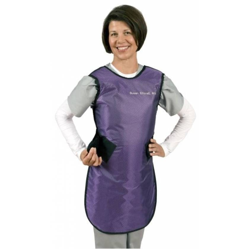Flex Back - Hook and Loop Closure - Ultra Lite Lead Apron with Tethered Collar