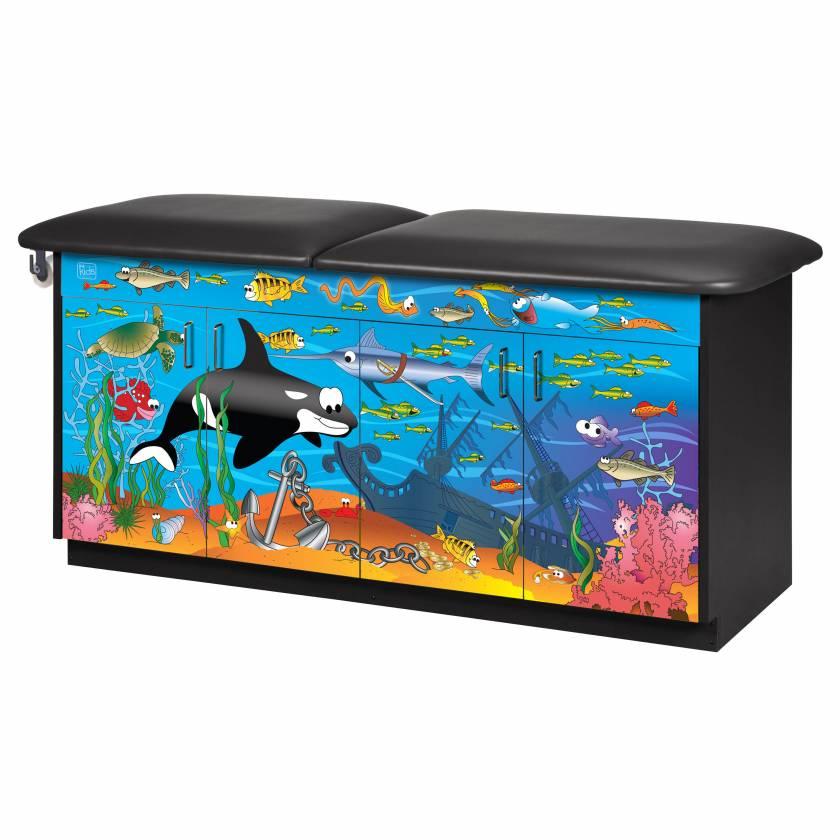 Clinton model 7936 Imagination Series Ocean Commotion Pediatric Treatment Table