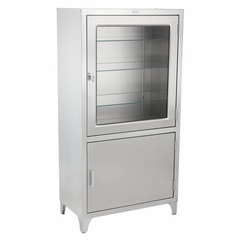 "Blickman Model 7953SS Free Standing Cabinet (Kay) - 30"" Width"