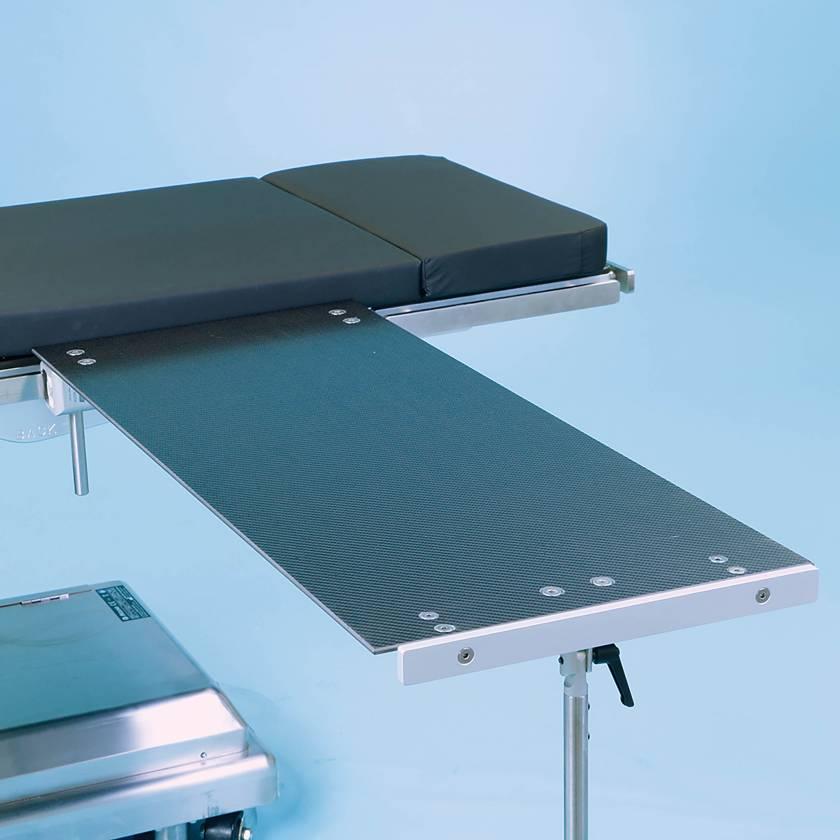 SchureMed 800-0024 Rectangle Carbon Fiber Major Procedure Table