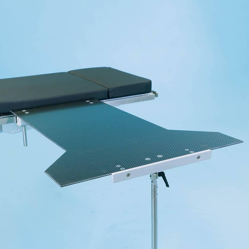SchureMed 800-0029 End Rest Carbon Fiber Major Procedure Table