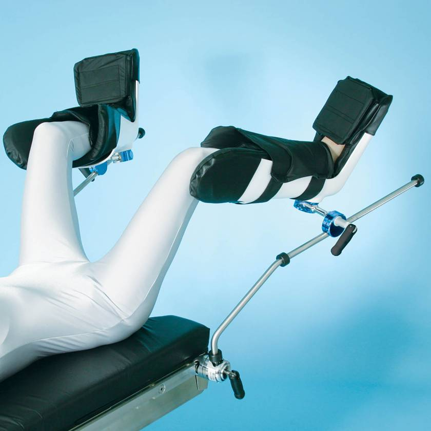 SchureMed 800-0049 Lithotomy Stirrups With Advanced Boot System