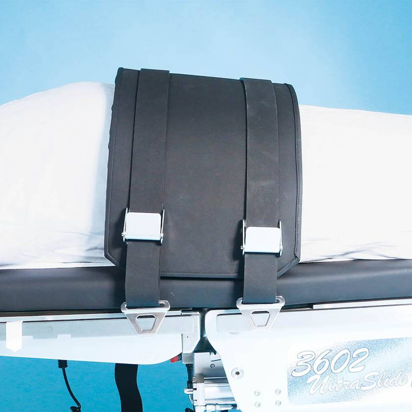 SchureMed 800-0119 Bariatric Restraint Strap With Pad (shown with Optional Restraint Strap Mounting Hook item 512-0039)
