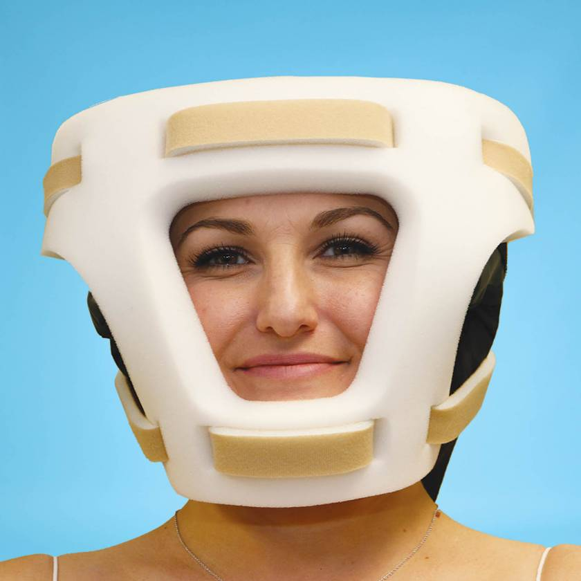 SchureMed 800-0164 Shoulder Chair Disposable Face Mask