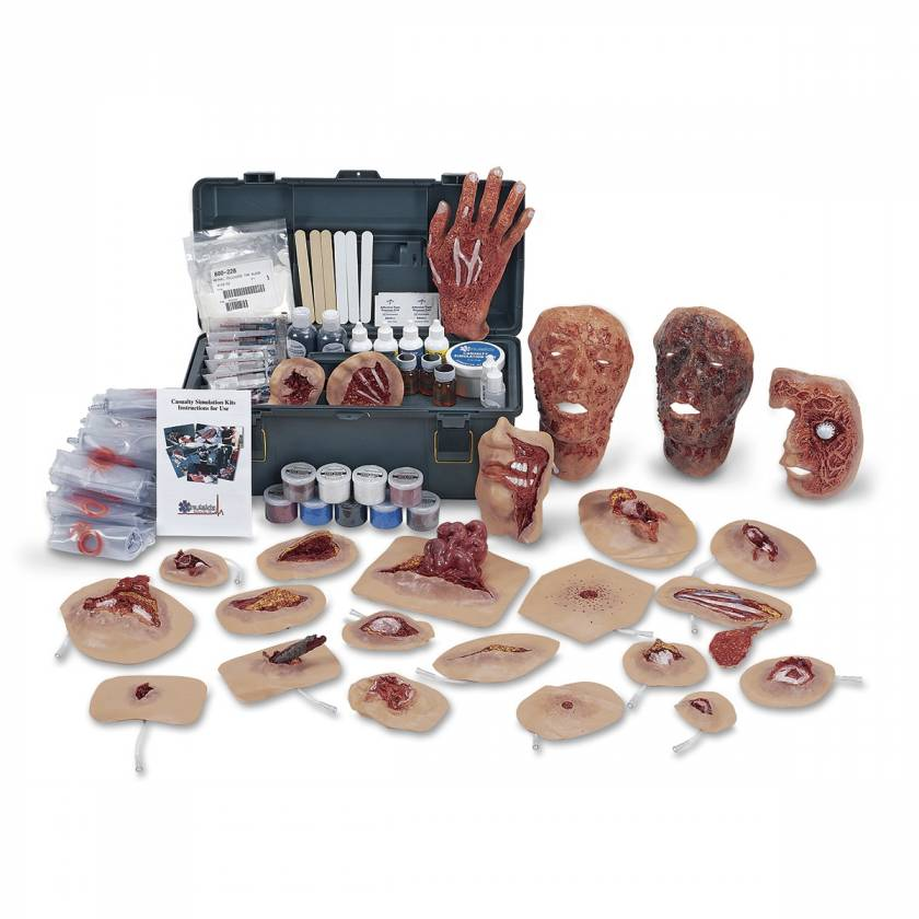 Xtreme Trauma Deluxe Moulage Wound Kit