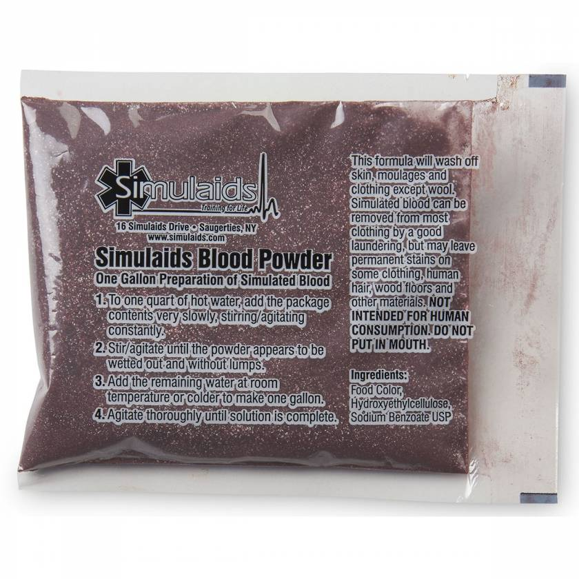 Life/form Moulage Blood Powder for 1 Gallon