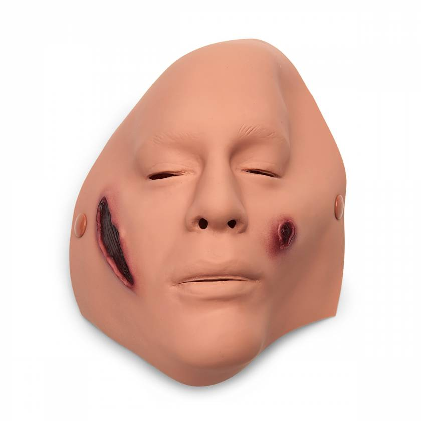 Life/form Moulage Wound - Anthrax, Double Wound, Face Simulator