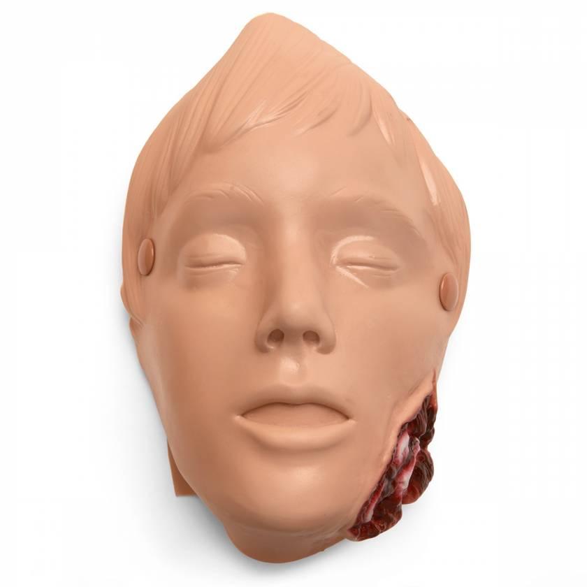 Life/form Moulage Wound - Jaw Wound - Light Simulator (Manikin Use)