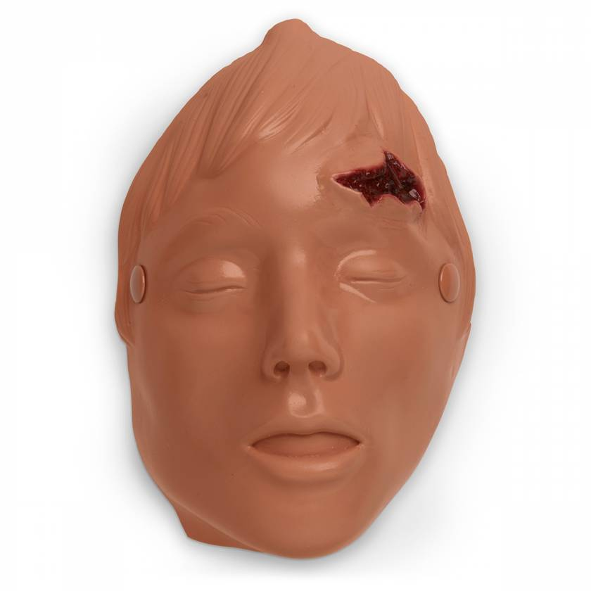 Life/form Moulage Wound - Lacerated Forehead Simulator (Manikin Use)