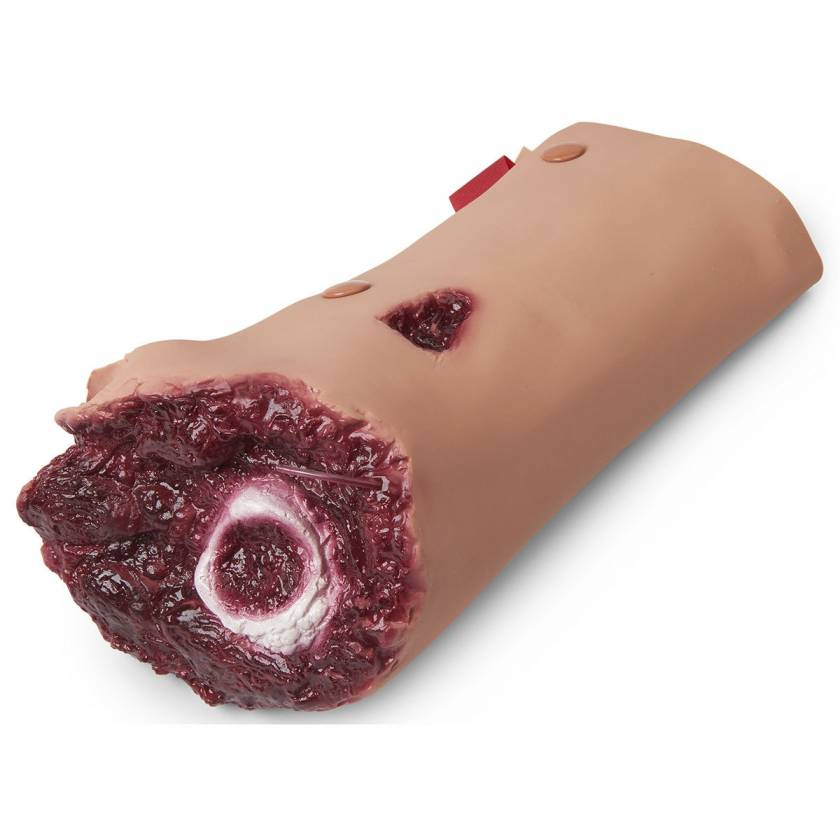 Life/form Moulage Wound - Leg Amputation - Light Simulator