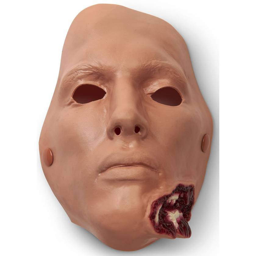 Life/form Moulage Wound - Jaw Wound - Bleeding Simulator