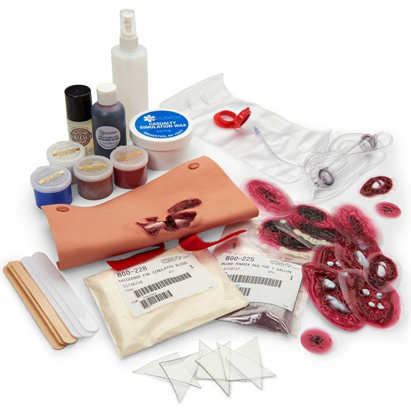 Simulaids Basic Casualty Wound Simulation Kit