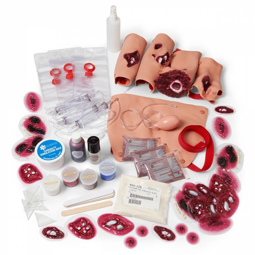Multiple Casualty Wound Simulation Kit