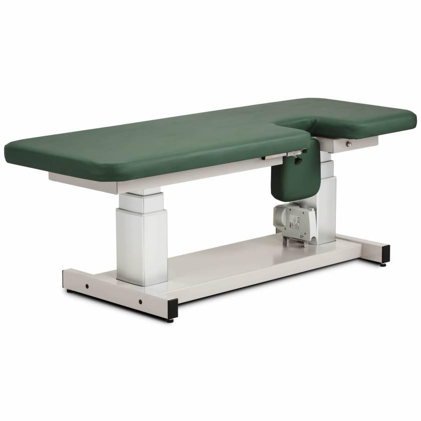 "Clinton 80071 27"" Wide Imaging Trendelenburg Power Table Flat Top"
