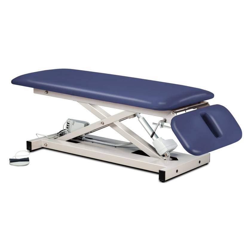 Clinton Space Saver Power Table with Drop Section Model 80220