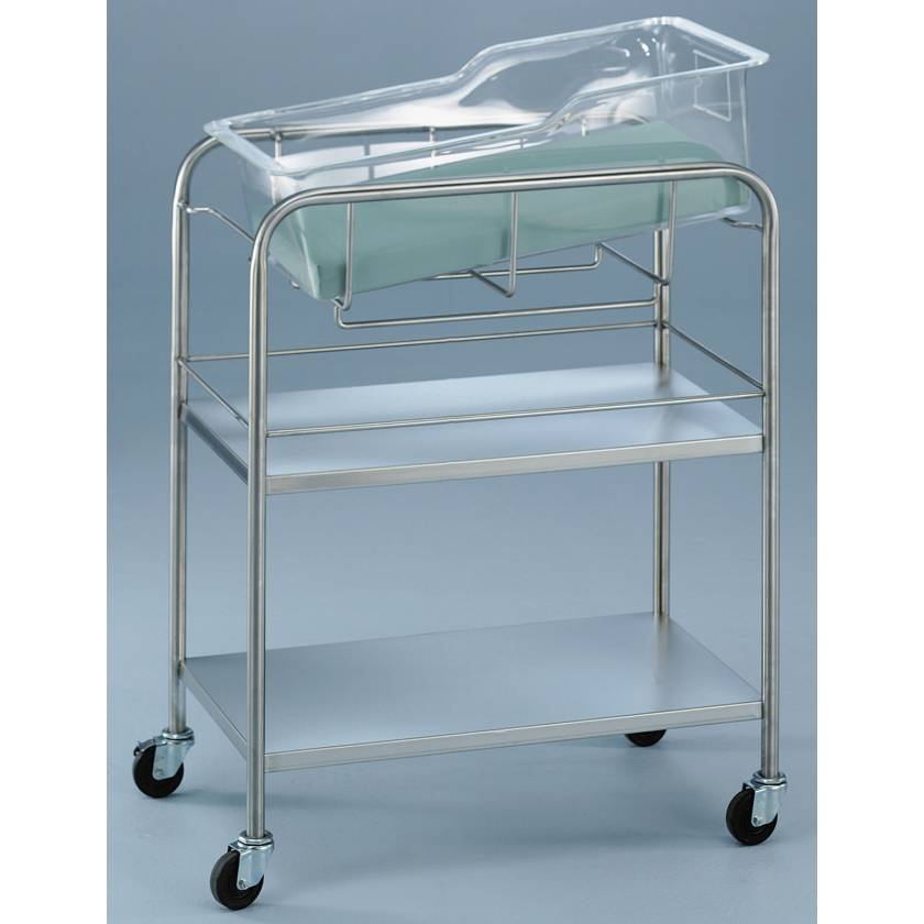 Bassinet with Two Shelves