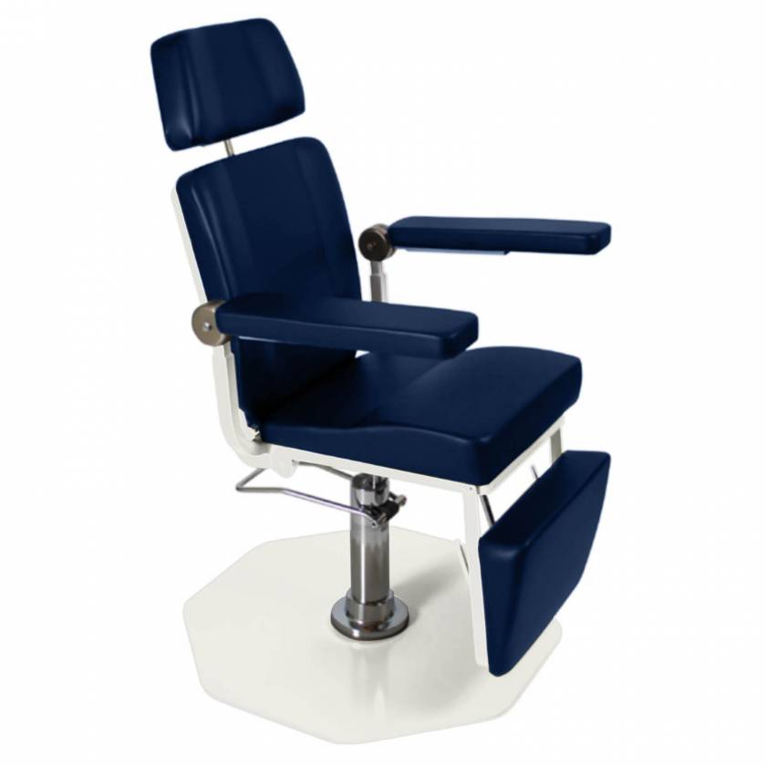 Model 8612 ENT Chair with Foot Operated Pump - Adobe (Please note, image shown optional Backrest with Articulating Headrest)