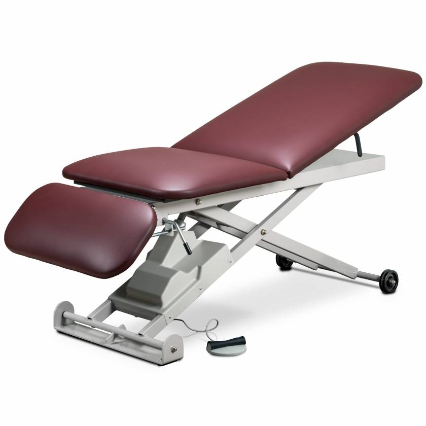 Clinton Model 86300 E-Series Power Table with Adjustable Backrest and Drop Section