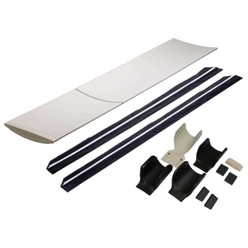 9107 Long Table Pad, 9079 Detachable Slide Rail with Extender, and 9090 Aquilion Pediatric & Adult Head Holder Kit