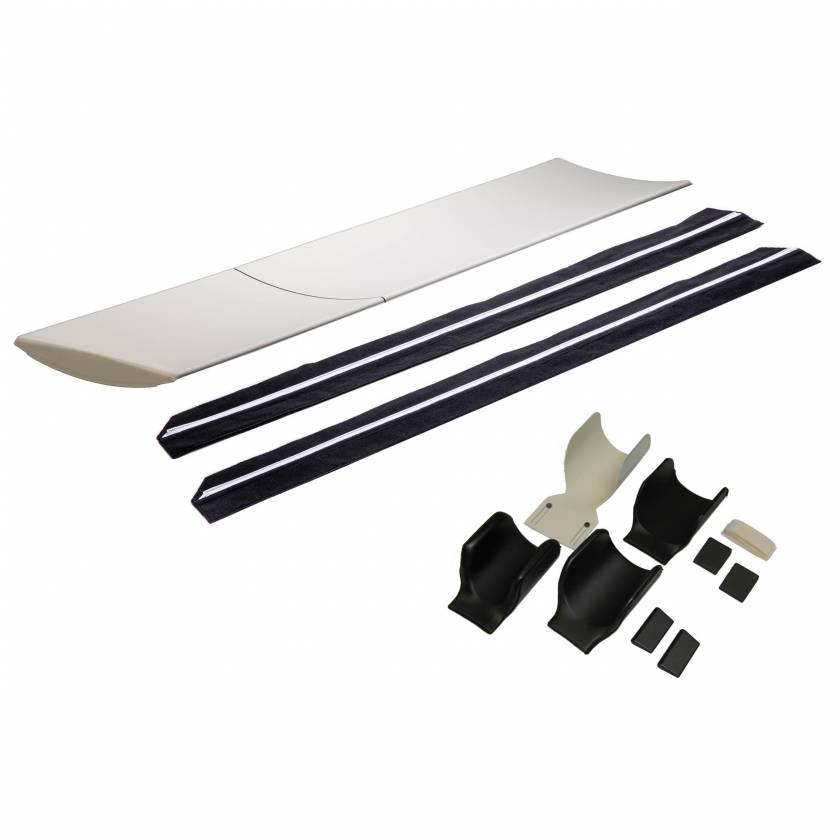 9108 One Table Pad, 9080 Detachable Slide Rail with Extender, and 9090 Aquilion Pediatric & Adult Head Holder Kit