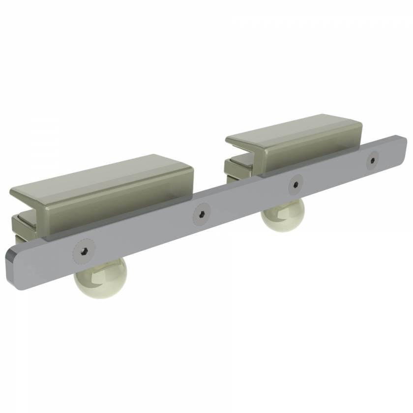 "9437 Detachable Rail 15"" L x 9mm W x 25mm H"