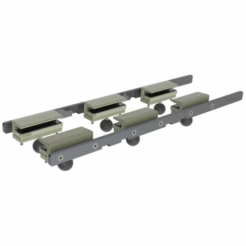 "9438 Detachable Rail Set 28"" L x 9.4mm W x 28.5mm H"