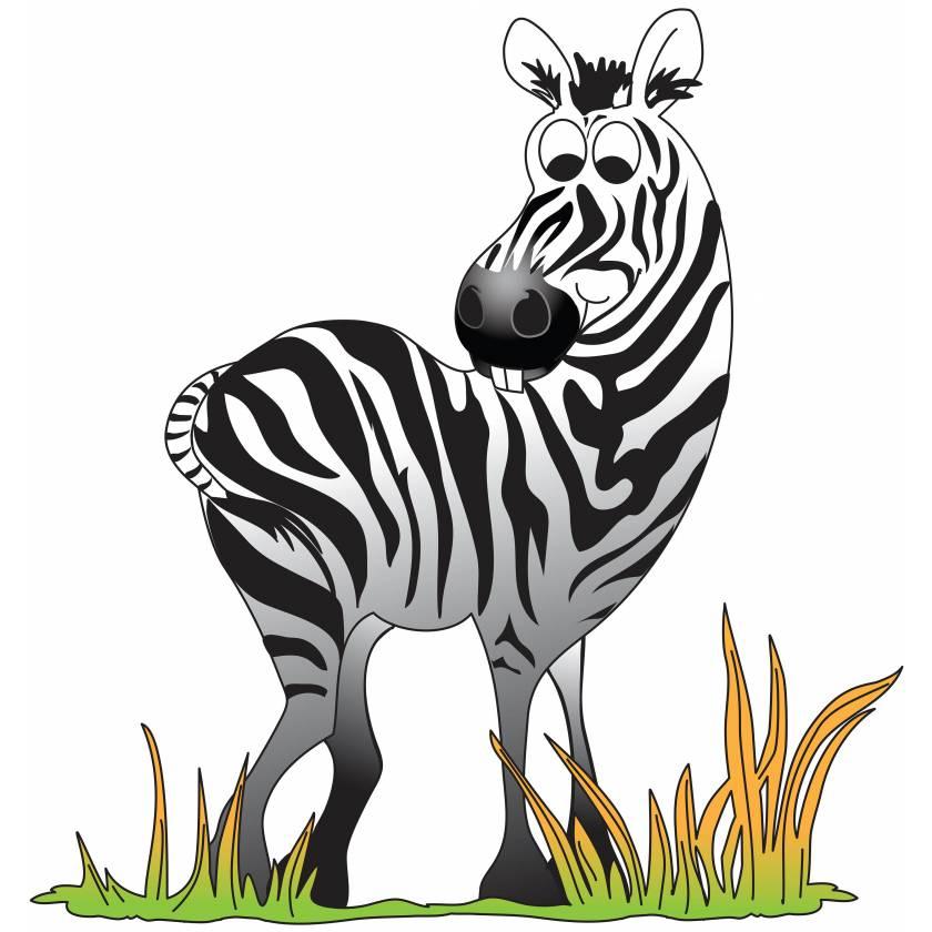 Clinton 9721 Zebra Graphic