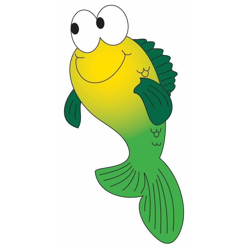 Clinton 9742 Fish Graphic