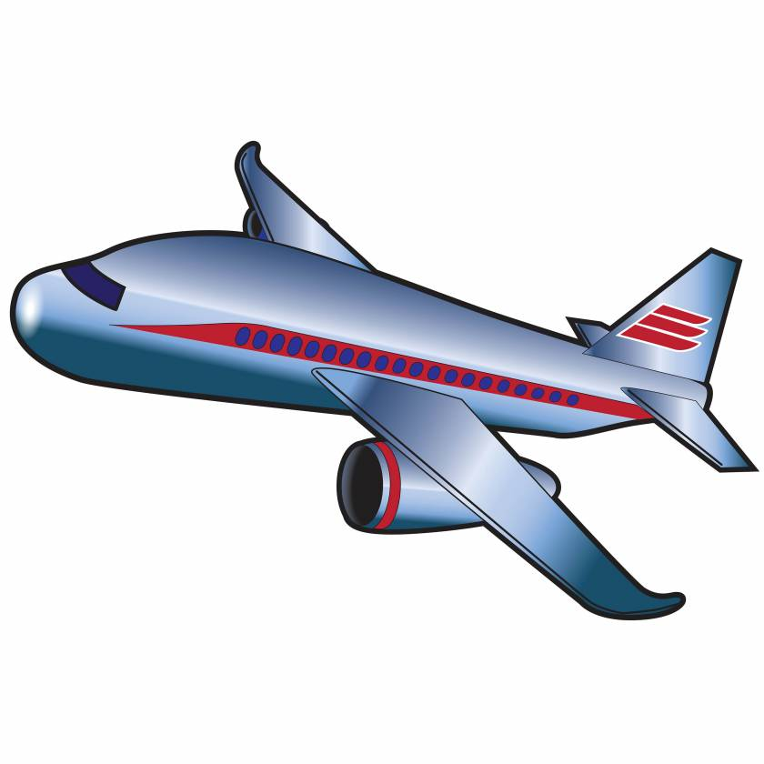 Clinton 9723 Airplane Graphic