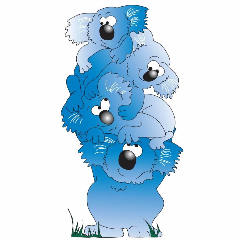 Clinton 9726 Koala Graphic