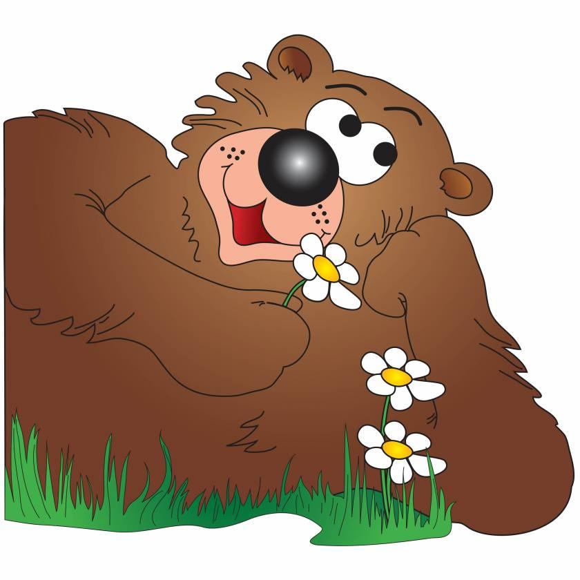 Clinton 9729 Friendly Bear Graphic