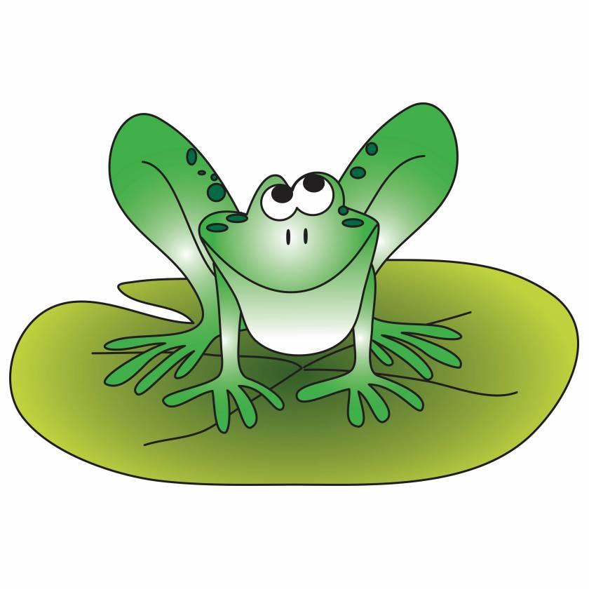 Clinton 9743 Froggie Graphic