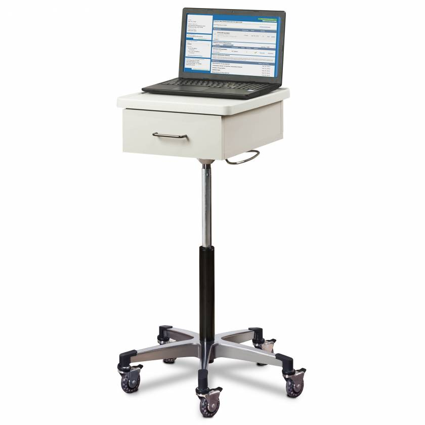 Clinton 9800 Compact Tec-Cart Mobile Work Station with Drawer