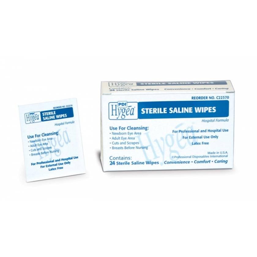 Hygea Sterile Saline Wipes