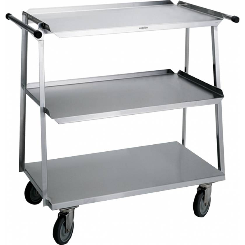 Pedigo Stainless Steel Utility Cart