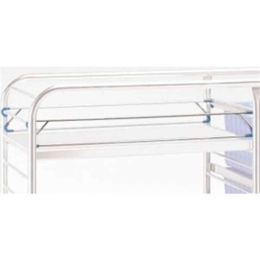 Pedigo Shelf Retaining Rod - Double Style for CDS-148 Distribution Cart
