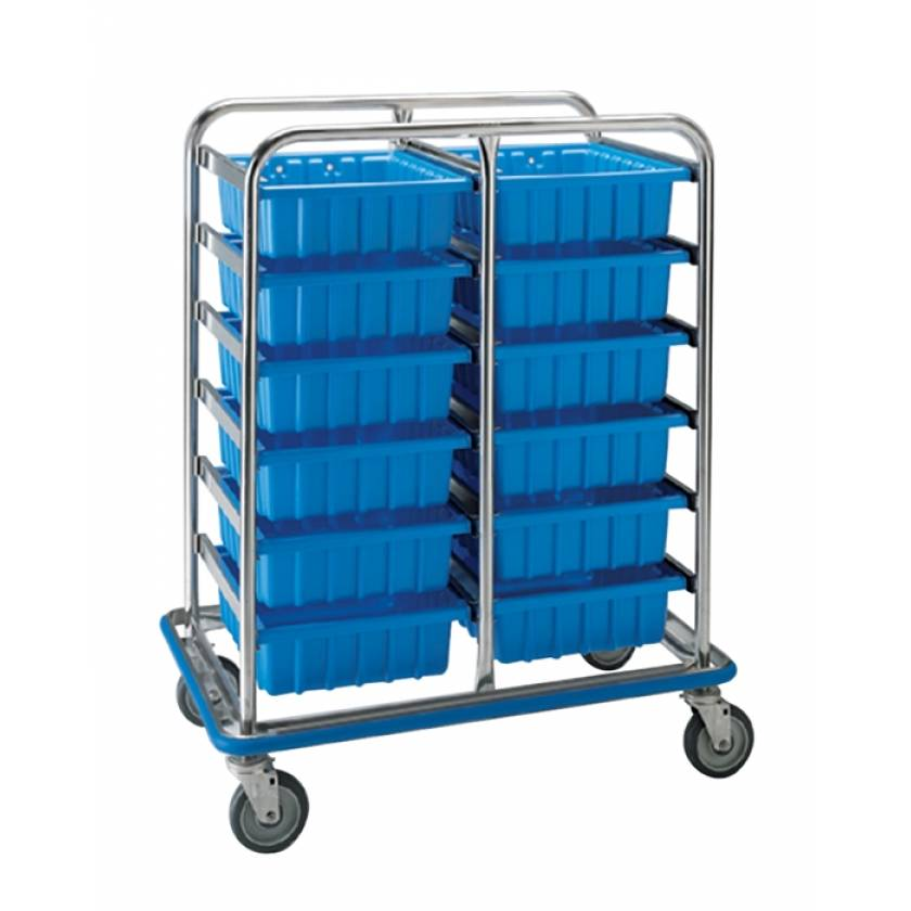 Pedigo Tote Box Supply Cart - Small
