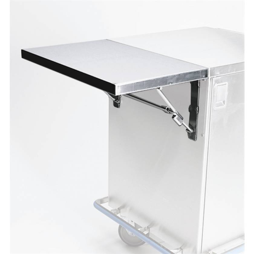 "Pedigo Drop Leaf Shelf - 16"" W for CDS-153 Case Cart"