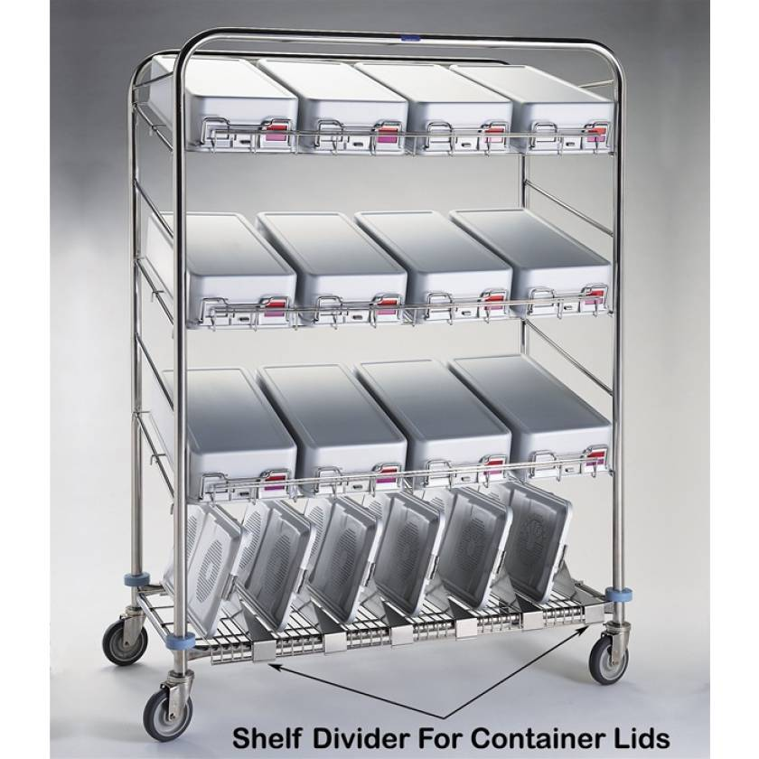 """Pedigo Shelf Divider For Container Lids - 6"""" Height"""