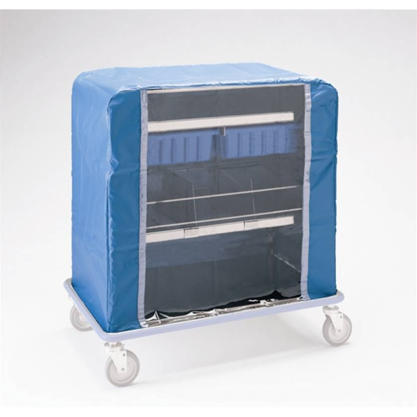 Pedigo Cart Cover With Hook and Loop Closure for CDS-177 Central Supply Cart
